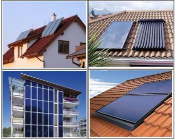 Impianto Solare Termico - moduli solari