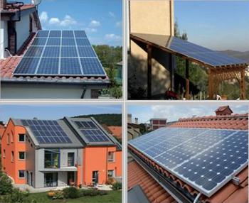 Impianto Fotovoltaico - Applicazioni con moduli fotovoltaici