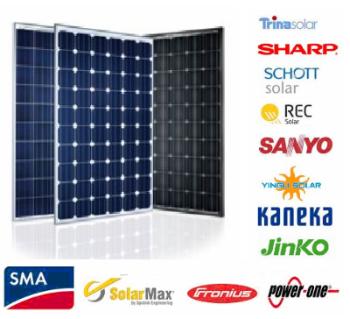 Impianto fotovoltaico grid connect - moduli fotovoltaici
