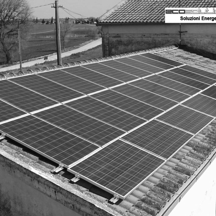 Impianto Fotovoltaico 6kw Ecosolution