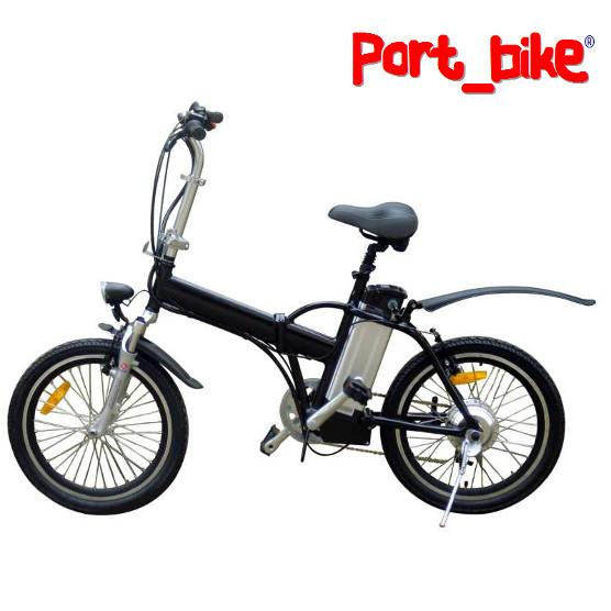 port bike bici pieghevole a pedalata assistita